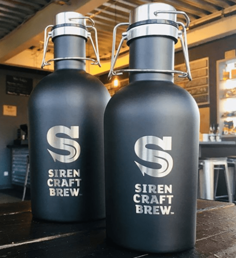 Beer Growlers from £16 & 50% off your first Growler fill at the Siren
