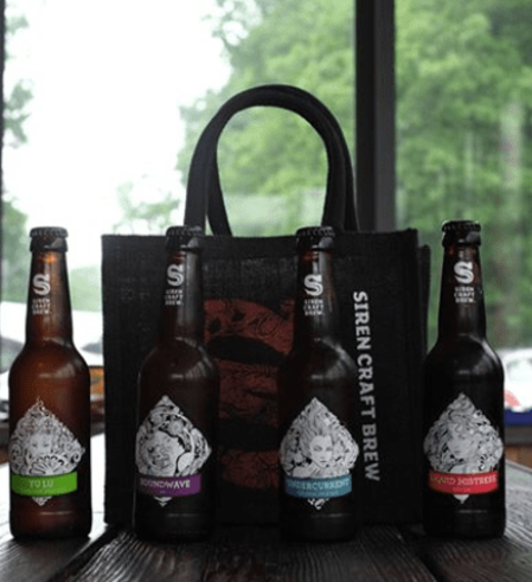 12 Mixed case of Siren beers only £24.99