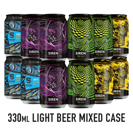 330ml Light Beer Mixed Case
