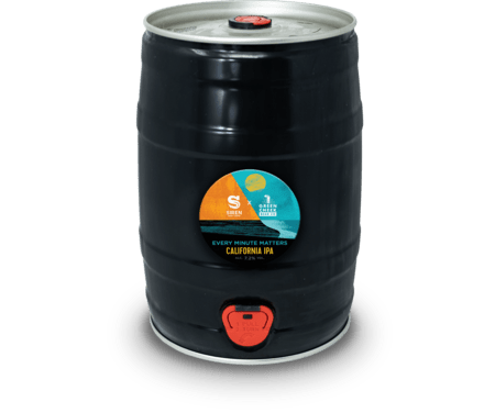 5L Mini Keg - Every Minute Matters