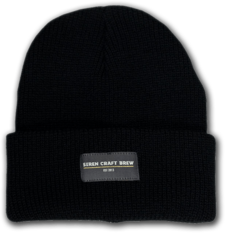 Black Knitted Siren Beanie