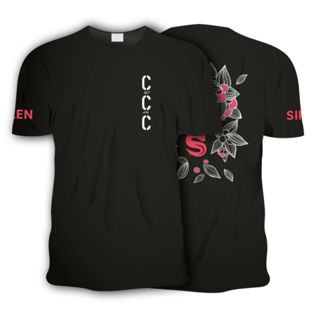CCC Short Sleeve T-Shirt - Black