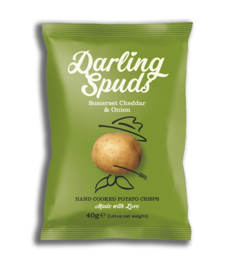 Darling Spuds Crisps - Somerset Cheddar and Onion