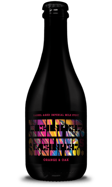 Helter Skelter Barrel Aged Imperial Milk Stout with Orange & Oak | 13.5% | 375 - Siren