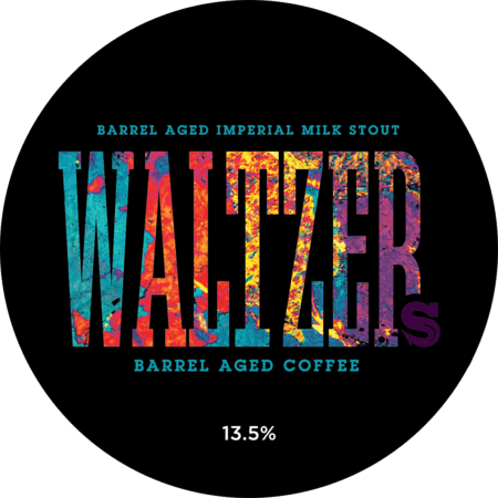 Waltzer Barrel Aged Imperial Milk Stout with Rum Barrel Aged Coffee | 13.5% | 375 - Siren