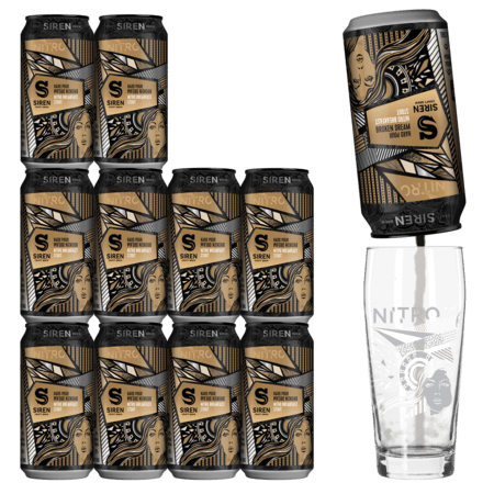 Hard Pour Broken Dream 11 Pack + Nitro Glass