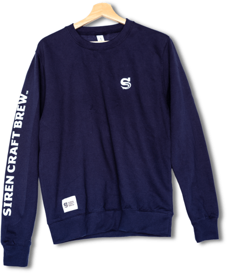 Navy Blue Siren Sweatshirt