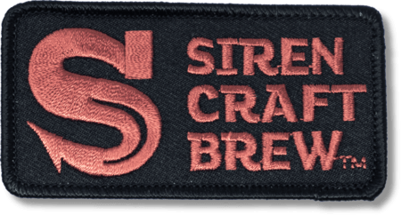Siren Iron on Patch