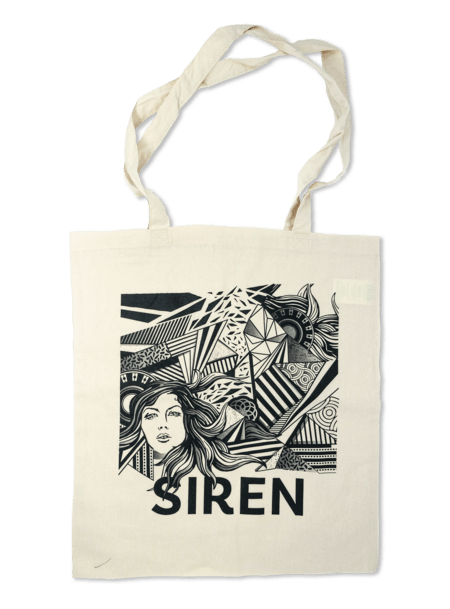Siren Tote Bag - White Sand