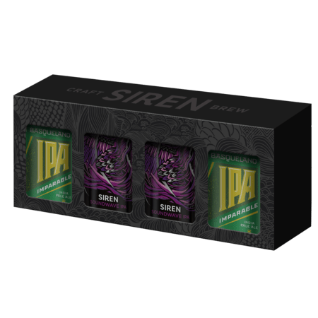 Siren vs Basqueland 4-Can Gift Pack