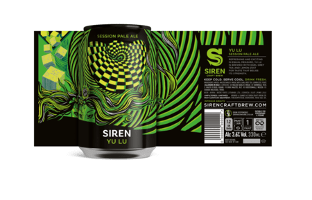 Yu Lu Session Pale Ale | 3.6% | 330ml  - Siren