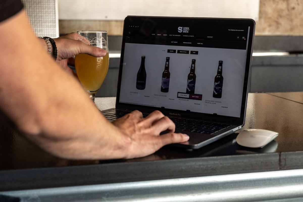 Exploring the new Siren Craft Brew website